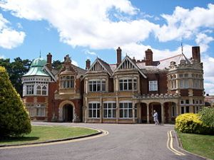Bletchley Park, where the Enigma code was cracked